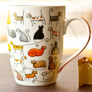 DoDo Porcelain Cat Mug
